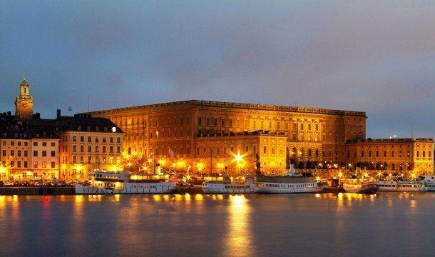1. Стокгольмский королевский дворец, Швеция Стокгольмский королевский дворец, находящийся в столице