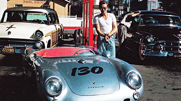 """Актер Джеймс Дин часто участвовал в гонках на своем 550 Спайдере, которого ласково называл """"Ма"""