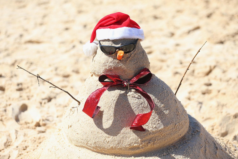 Австралийская версия снеговика.