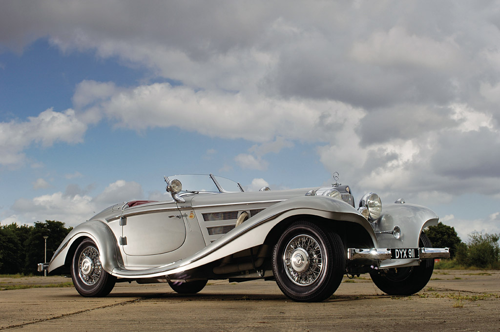 Mercedes-Benz 540 K Special Roadster 1934 года.
