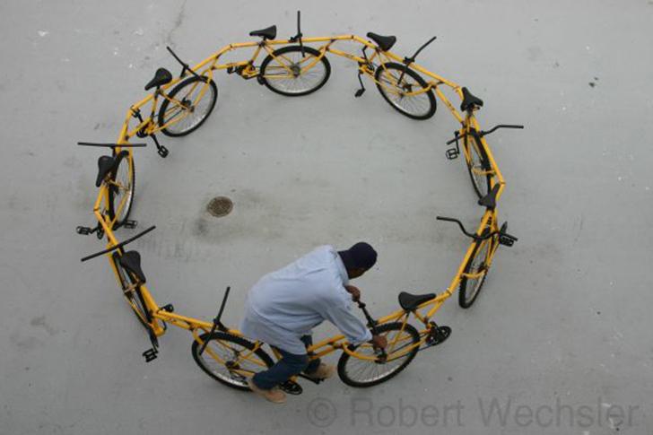 Если все же двухместный вариант вам не подходит, вы наверняка удивитесь, узнав, что велосипед для де