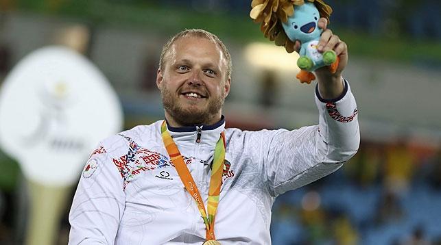 Белорус Андрей Праневич завоевал золото наПаралимпиаде вРио