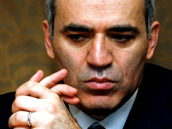 Каспаров одержал победу дело против РФ