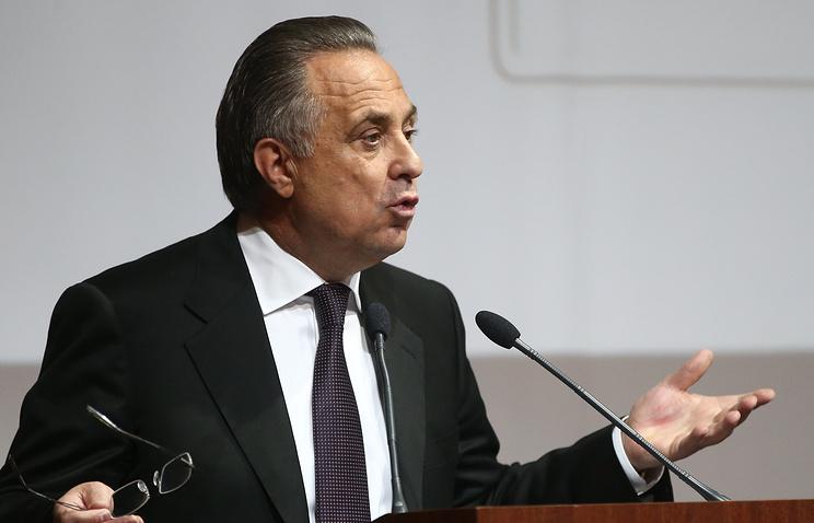 Виталий Мутко: СИталией можем сыграть летом 2018г.