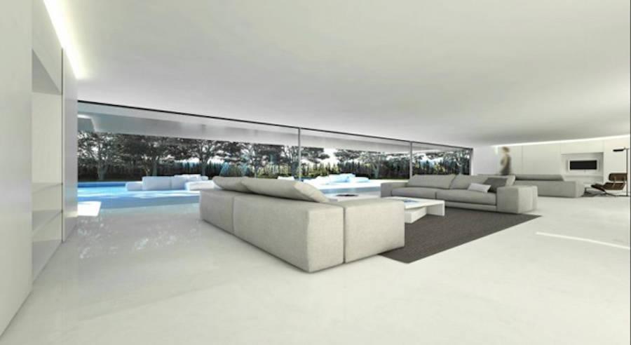 Pure Villa in Madrid