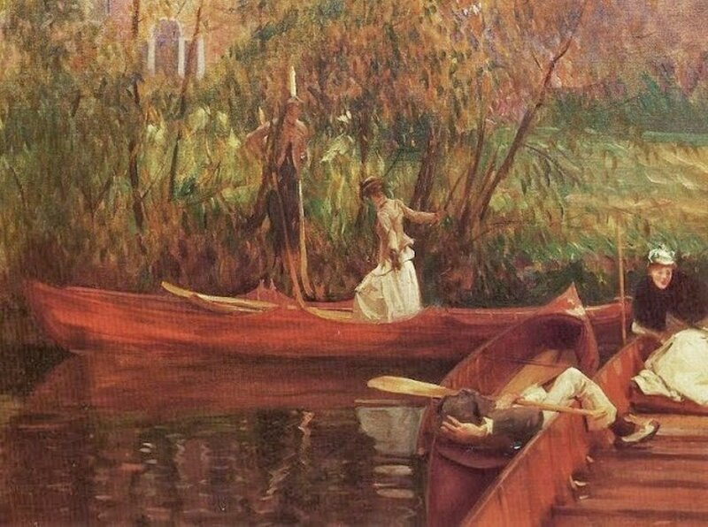 4  John Singer Sargent (1856 - 1925).  Detail A Boating Party.jpg