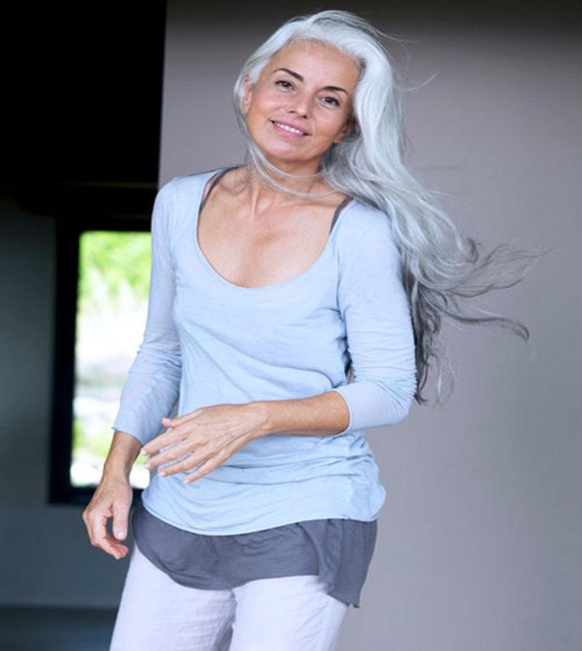 60-Year-Old Fashion Model - Yasmina Rossi