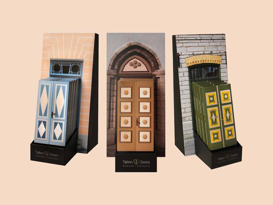 Cute Packaging for Tallinn Doors Chocolate