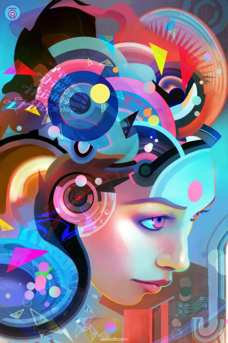 Summer Girls - Les magnifiques portraits colores d'Alexander Tooth