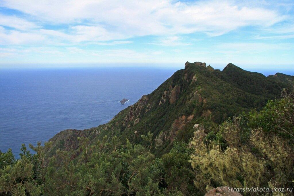 Север Тенерифе, горы Анага