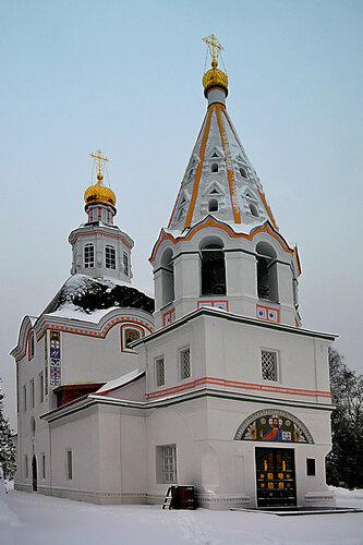 Храм Успения Пресвятой Богородицы в с.Успенском