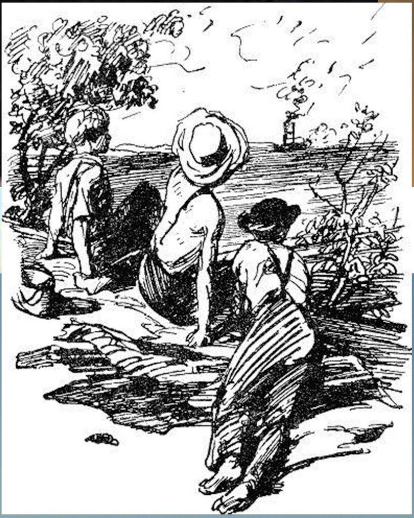 Иллюстрация В. Н. Горяева к пр-ю М.Твена Приключения Тома Сойера (25).jpg