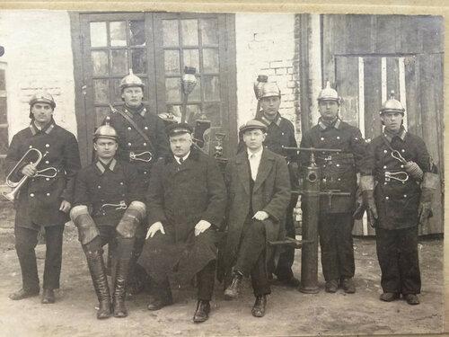 Московская пожарная команда 1920-е.
