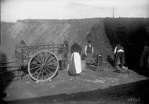1915-1916. Продажа угля, зима