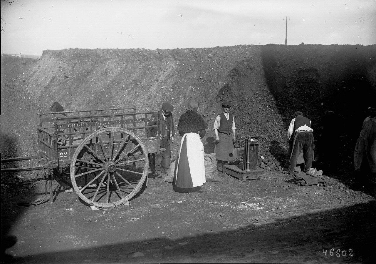 1915-1916. Продажа угля