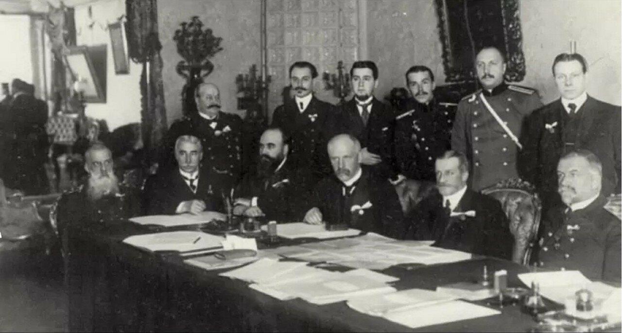 Фритьоф Нансен на заседании Императорского географического общества. 1903.