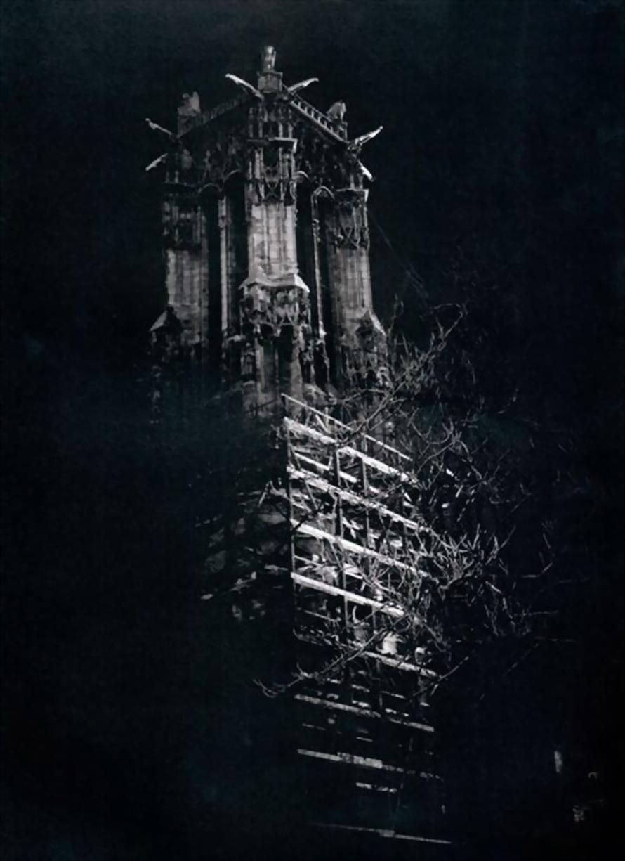 1933. Башня Сен-Жак ночью