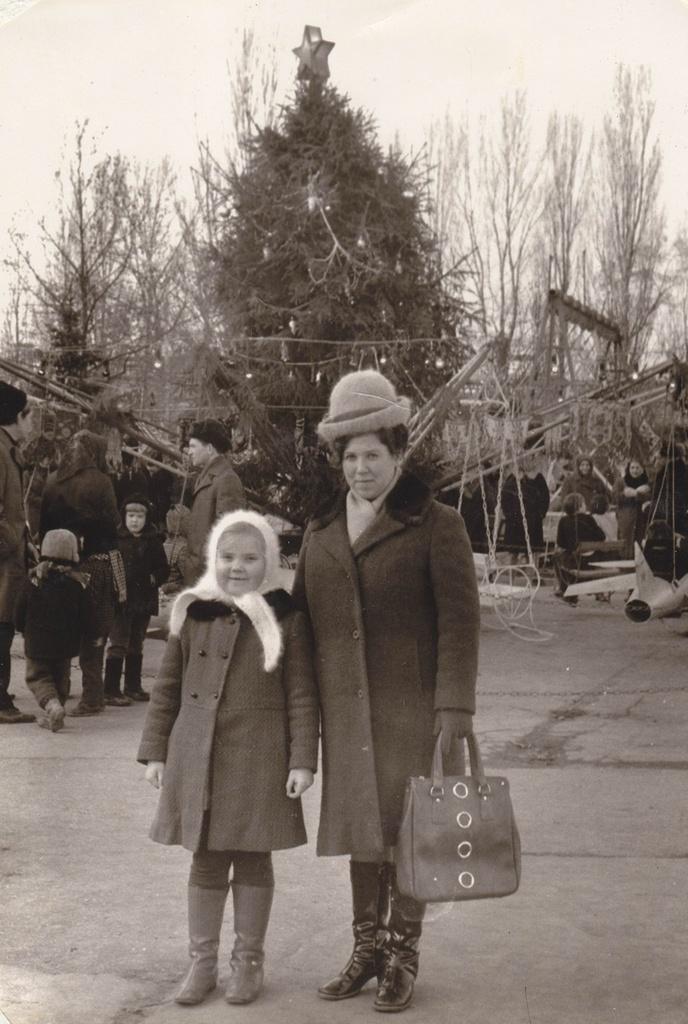 1971. Новый год. Ростов-на-Дону