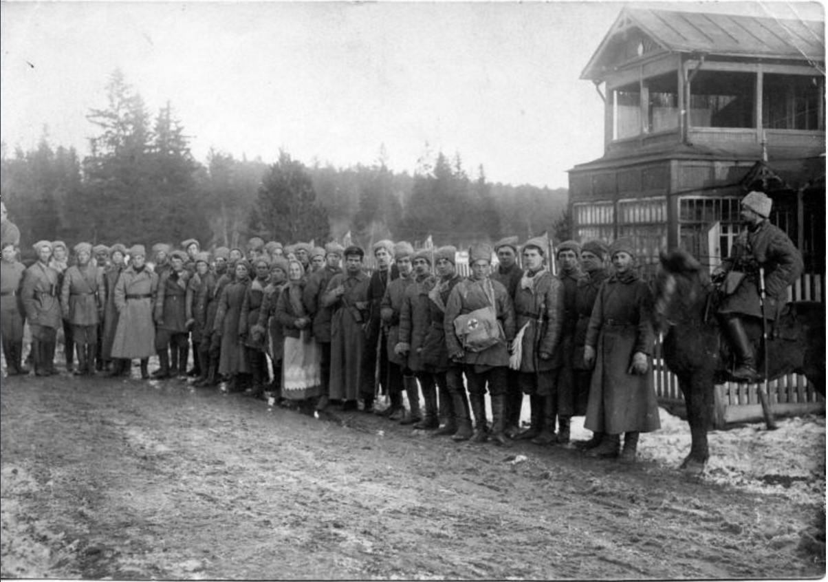 1921. Штаб курсовой батареи