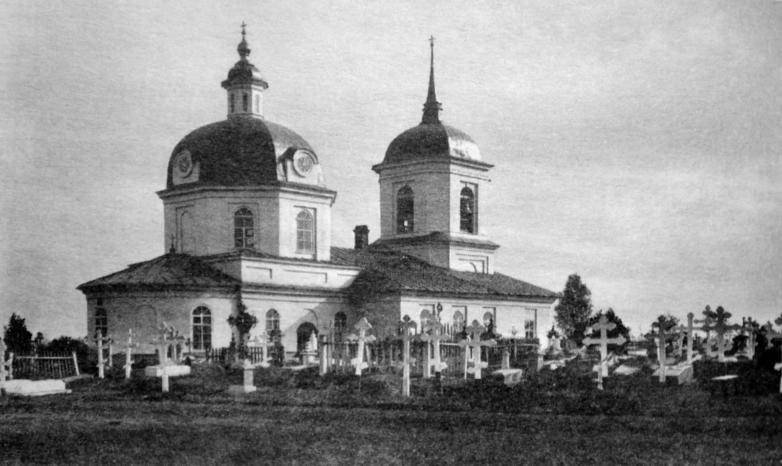 Ахтырская кладбищенская церковь