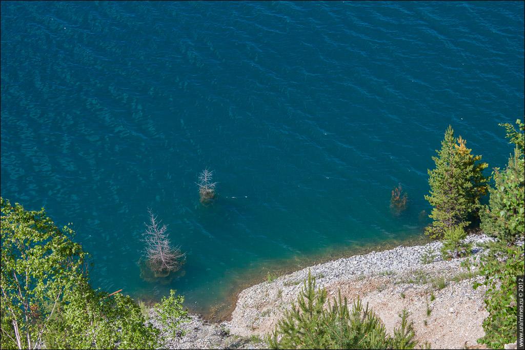 Анатольско-Шиловское месторождение голубого асбеста (карьеры Хургада, Лазурный, Тритон)