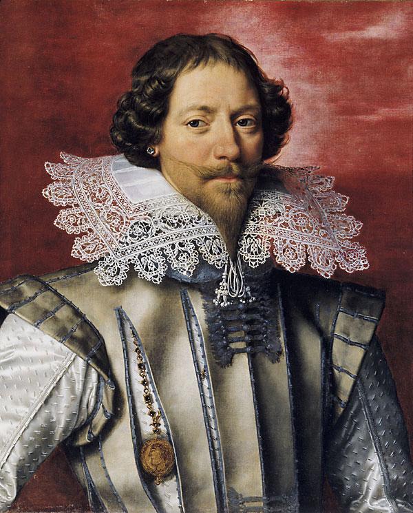 Поурбус, Франс Младший. герцог де Люинь? (1610-1622) Portrait of a Frenchman