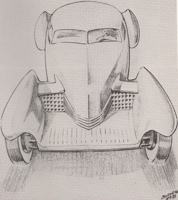 Cord 810 Rendering, By Gordon Buehrig, 1933 1.jpg