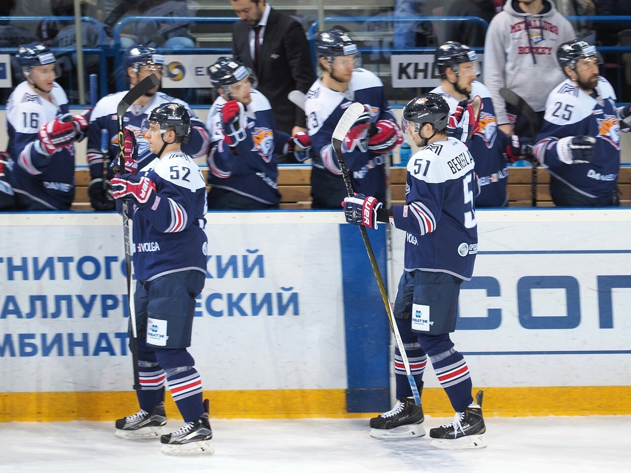 29Плей-офф 2016 Восток Финал Металлург - Салават Юлаев 25.03.2016