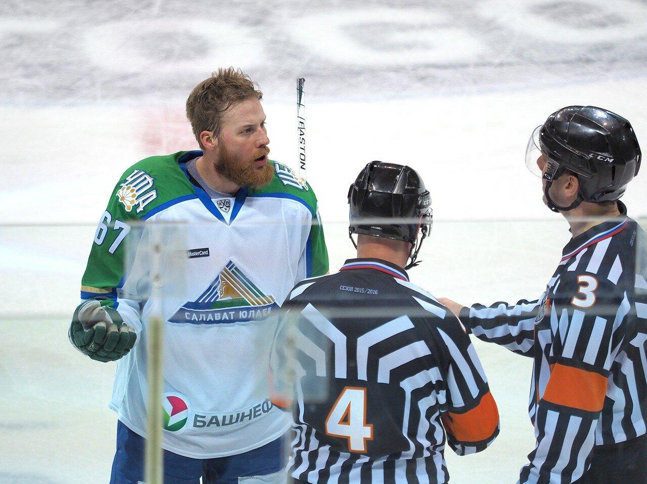 42Плей-офф 2016 Восток Финал Металлург - Салават Юлаев 25.03.2016