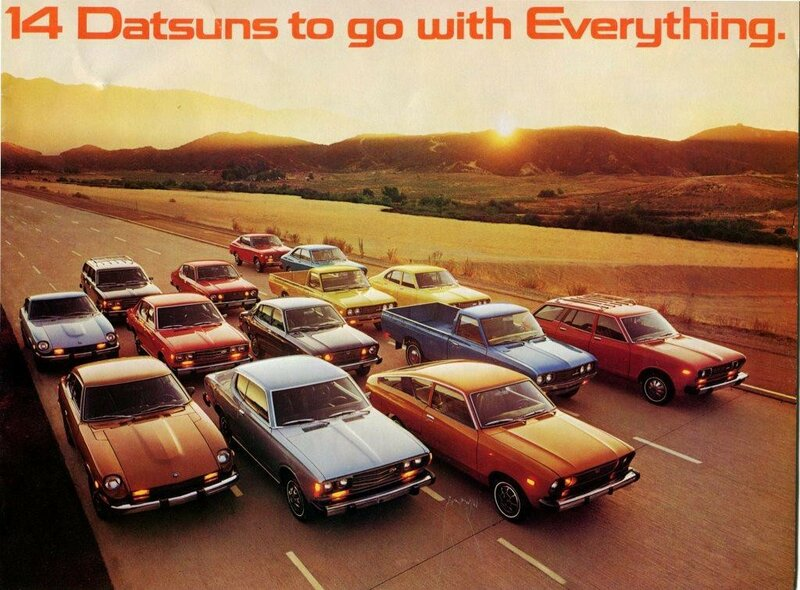 1976 Datsun Lineup of Cars and Trucks.jpg