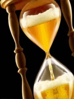 С днем пивовара! Часы с пивом