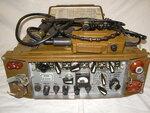 Радиостанция Р-143 с микротелефонной гарнитурой