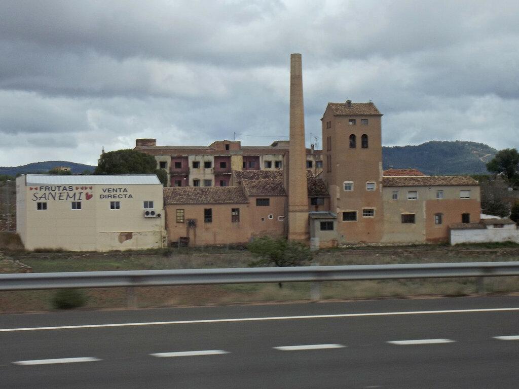 дорога в Валенсию