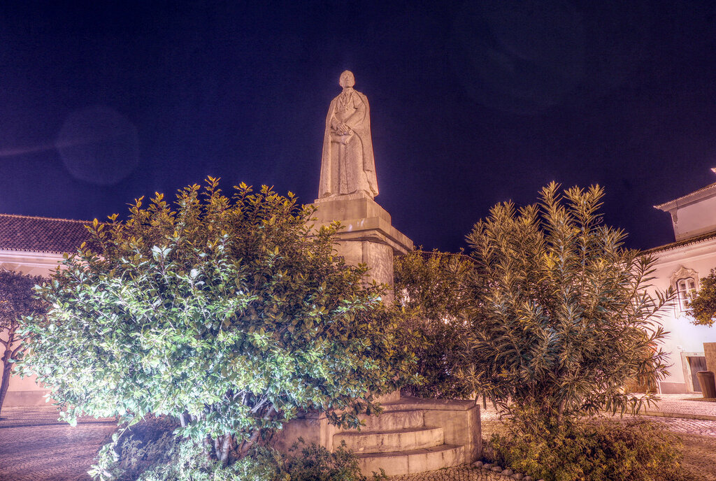Ночная прогулка по Фару