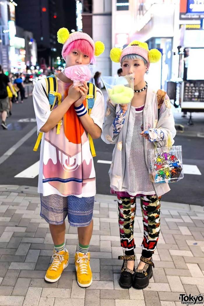 7. Уже тогда Харадзюку укрепил свой статус главного квартала моды во всей Японии.
