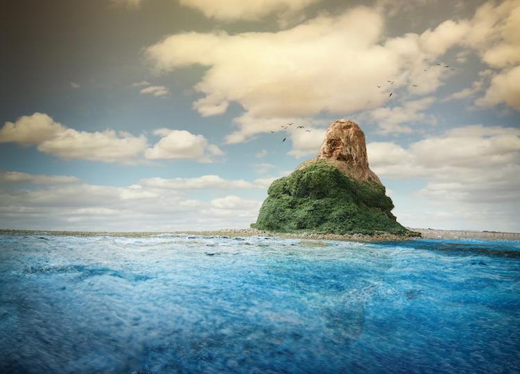 Фотограф моделирует иллюзорный мир, который не отличить от настоящего