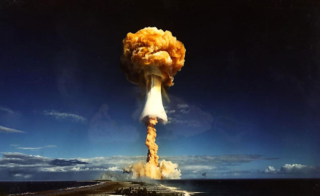 Термоядерный синтез — процесс, который происходит во время детонации водородной бомбы — самый мощный