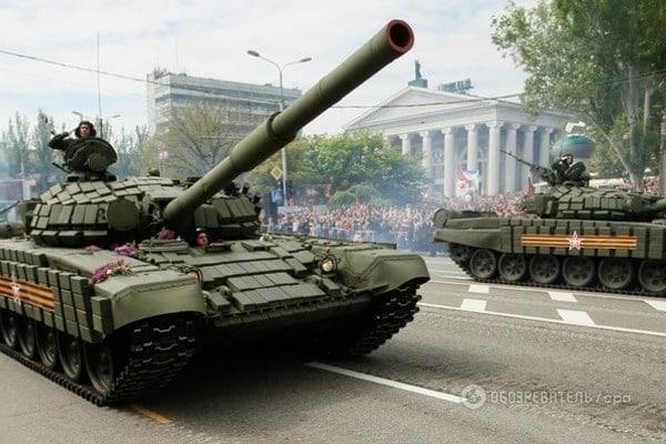 ВХарцызск из РФ привезли две САУ итри БМП— агентура