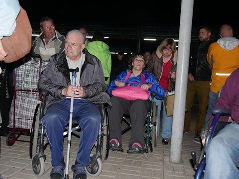 Переселенцев-инвалидов выселили изодесского санатория: люди вернулись наДонетчину