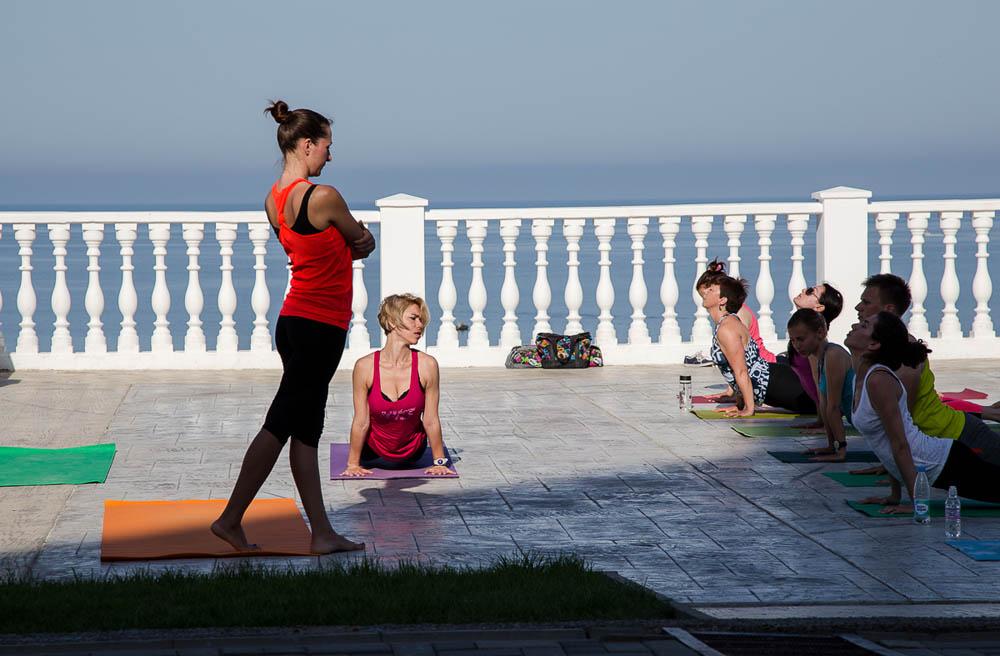 День йоги в Анапе фото