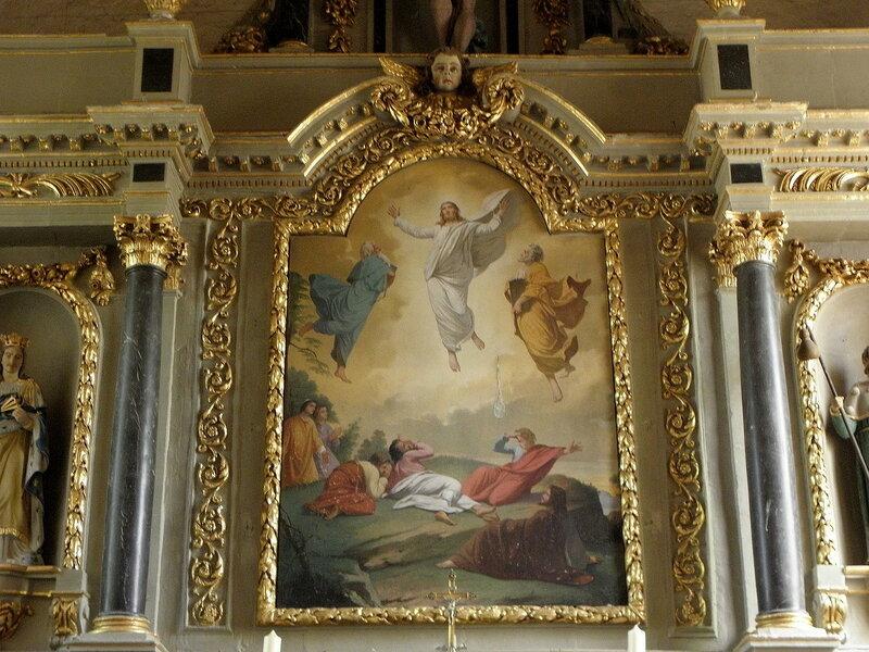 Boistrudan Église Saint-Jacques-le-Majeur Retable du maître-autel
