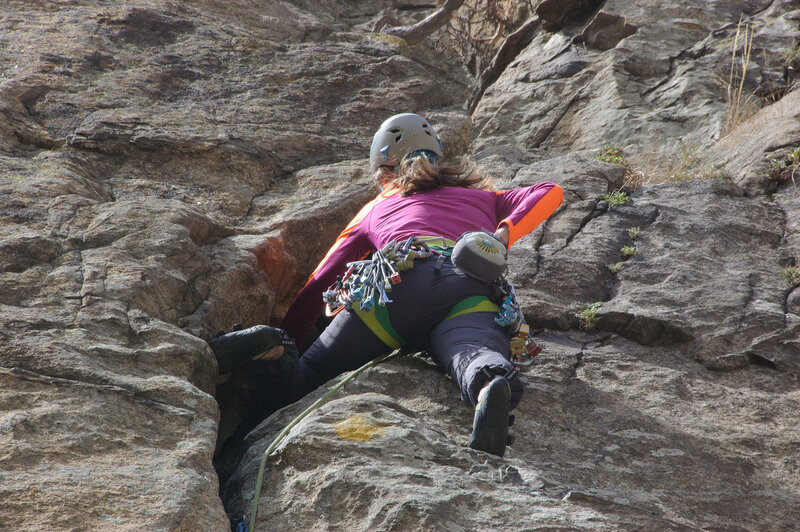 Тренировка на скалах Тырныауза