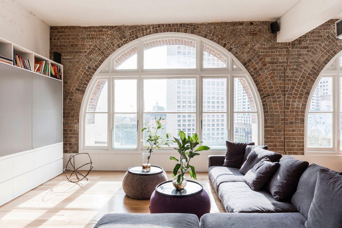 арочные окна в квартире