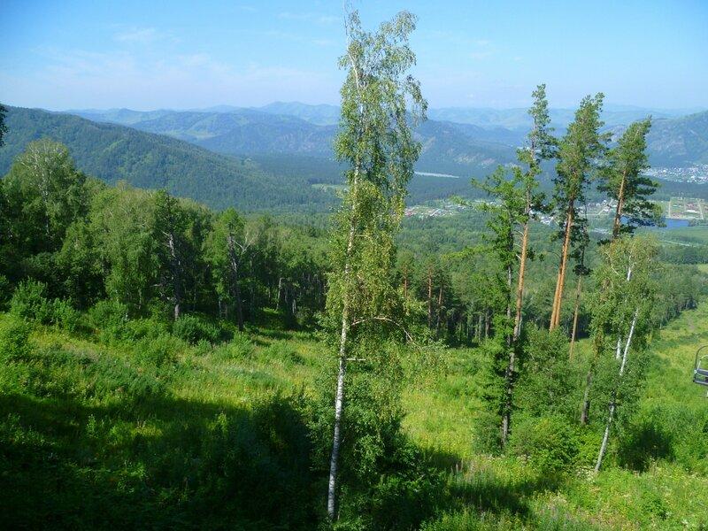 Алтай, на горе Малая Синюха (Altai, on the mountain Malaya Siniukha)