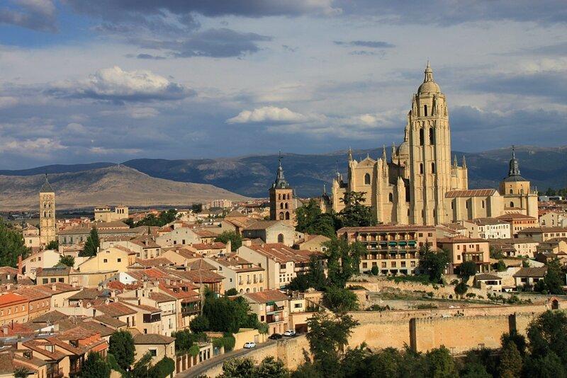 Испания, Сеговия – собор (Spain, Segovia – Cathedral)