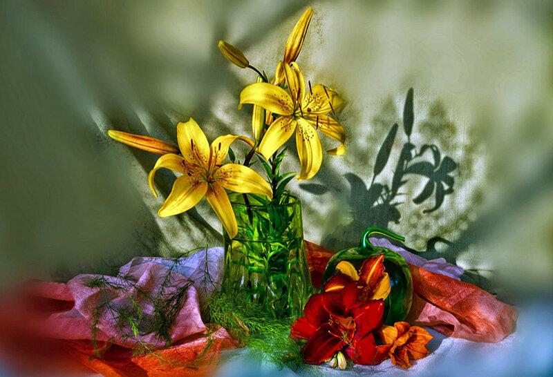 Лилии для Марины