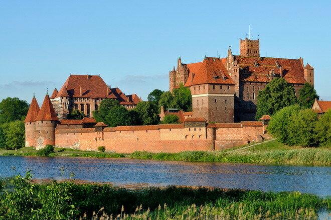 Мальборкский замок. Польша