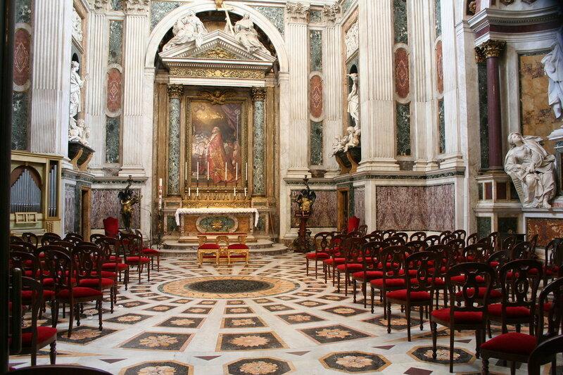 Catedral de São João de Latrão Hill.