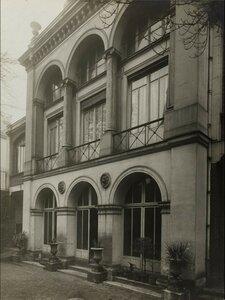1919. Рю де ла Тур де Дам, 1, садовый фасад, 9-й округ Парижа