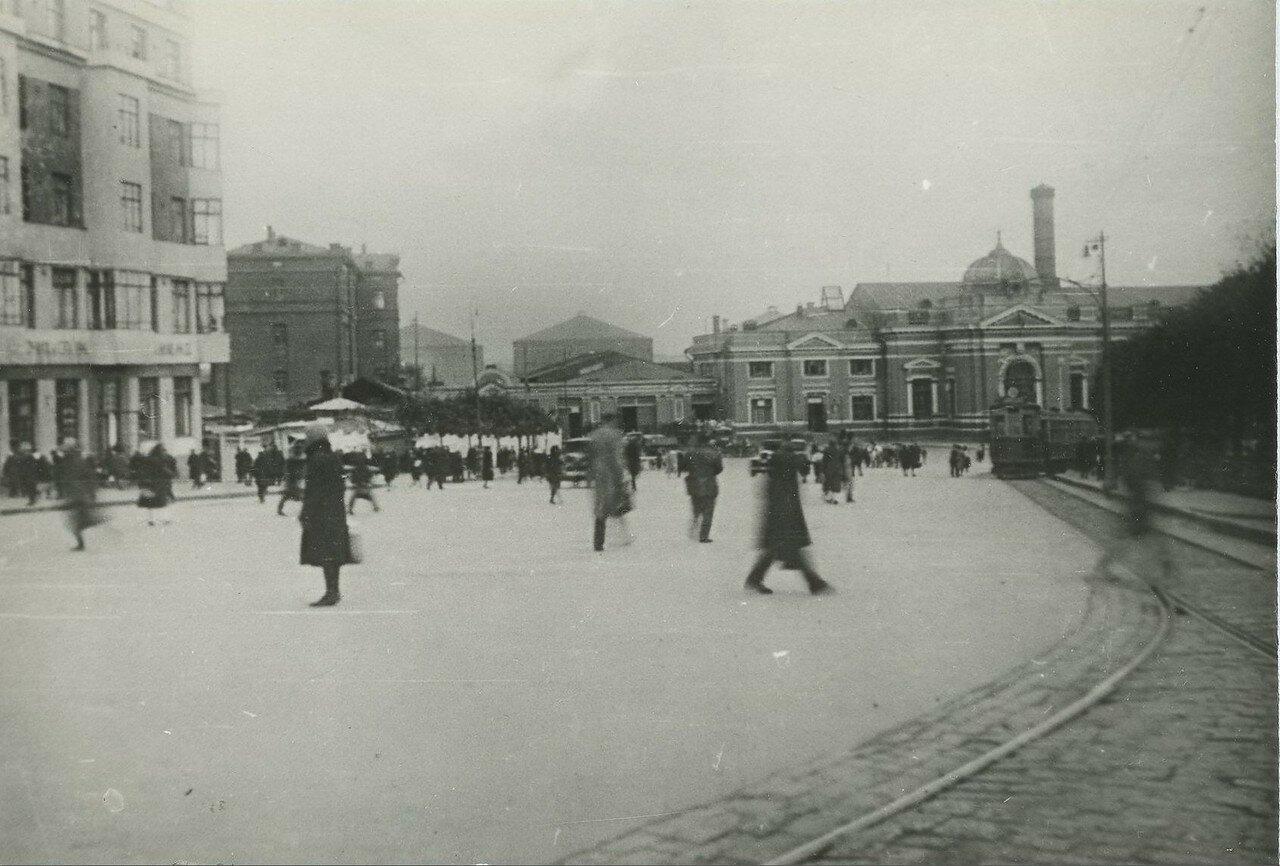 1930-е. Площадь Курского вокзала